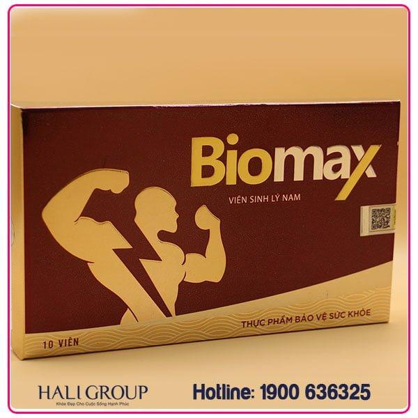 Viên Sinh Lý Nam Biomax Chiết Xuất Từ Đông Trùng Hạ Thảo