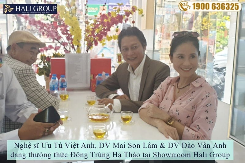 Sao việt tham quan showroom của Hali group