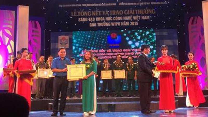 Giải thưởng Công nghệ khoa học sáng tạo Việt Nam – giải thưởng WIPO năm 2015