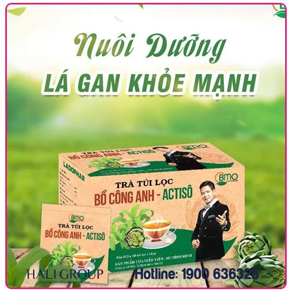 Trà Túi Lọc Chiết Xuất Bồ Công Anh – Atiso Bình Minh Organic