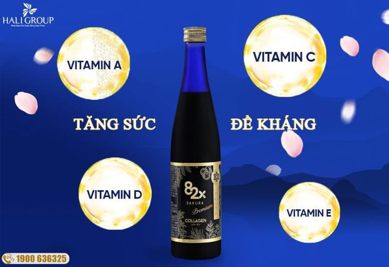 thành phần ưu việt của collagen sakura 82x nhật bản 2020