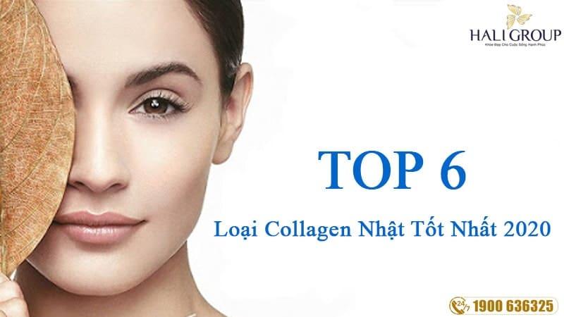 top 6 loại collagen nhật bản tốt nhất 2020