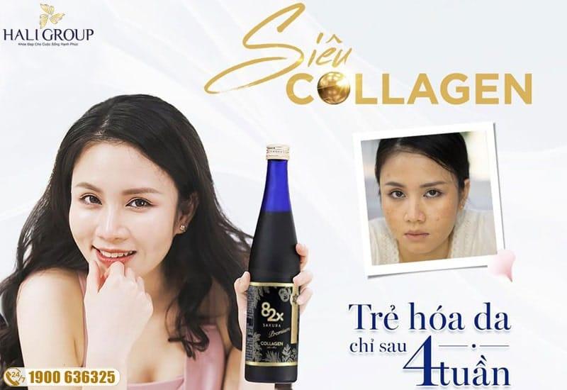 Đối tượng sử dụng 82x collagen sakura