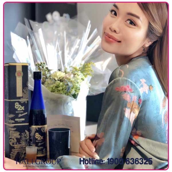 review collagen 82x sakura nhật bản thực tế từ khách hàng