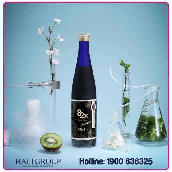 collagen 82x sakura placenta nhật bản chính hãng