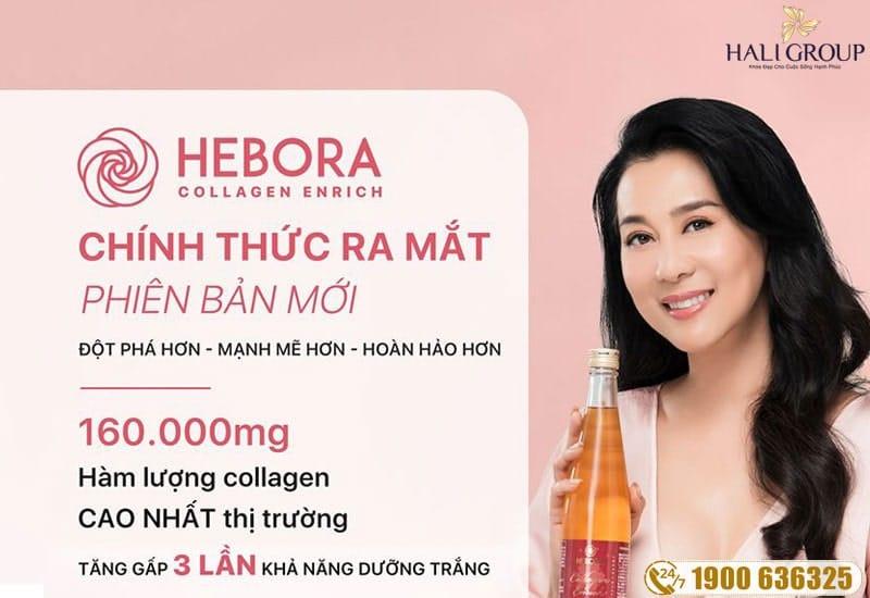 hebora collagen enrich nhật bản chính hãng mẫu mới 2020