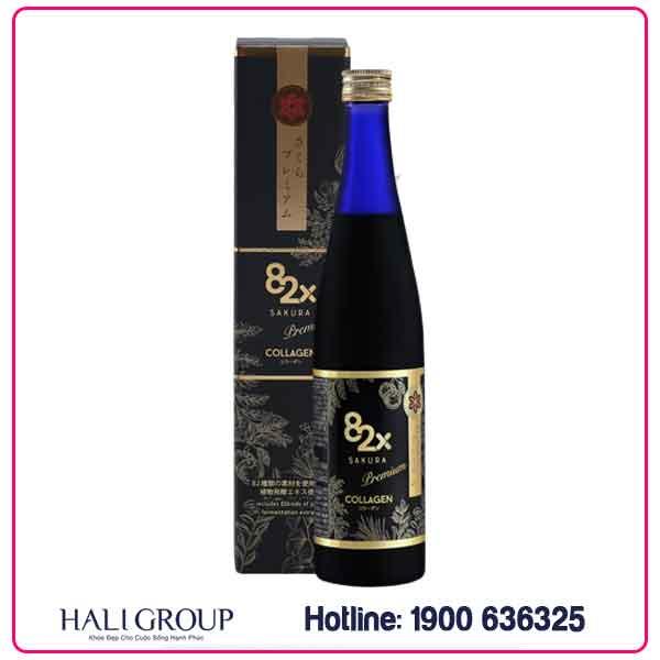Nước Uống Collagen 82X Sakura Premium Nhật Bản – Mẫu Mới Nhất 2020