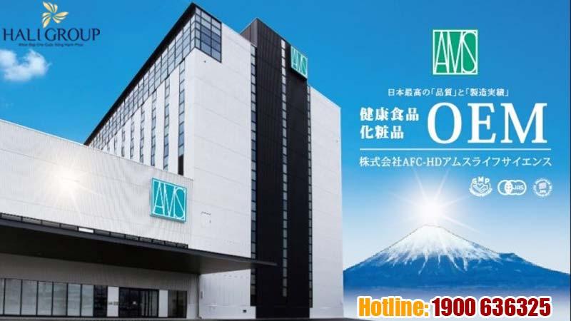 Tập đoàn sản xuất Dược - Mỹ phẩm hàng đầu Nhật Bản