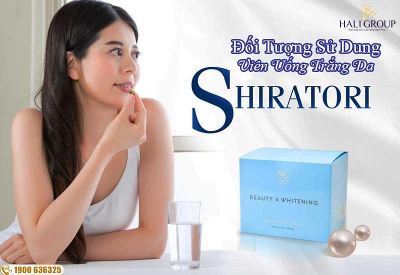 Viên uống trắng da Shiratori
