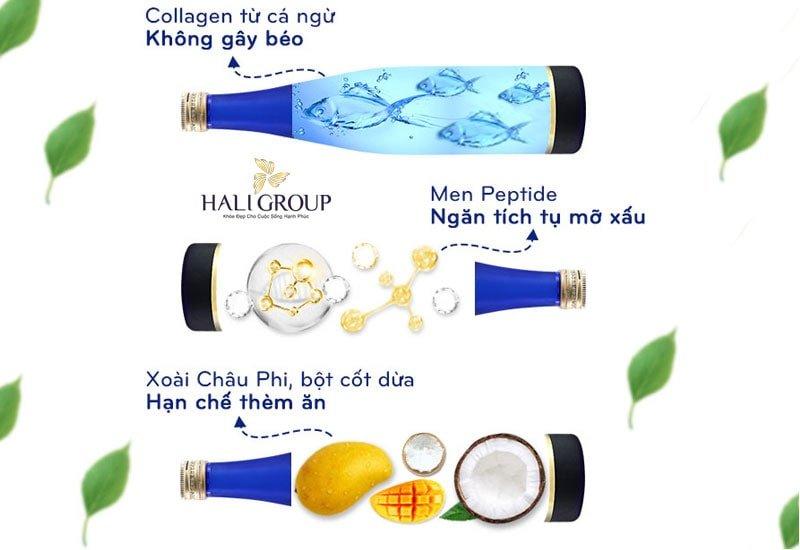 thành phần ưu việt có trong collagen 82x sakura