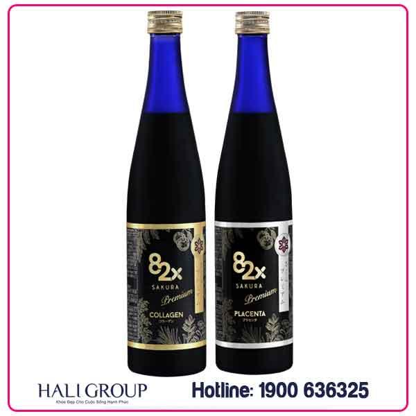 Combo Collagen 82X Sakura – Cải Thiện Làn Da – Kiến Tạo Vóc Dáng