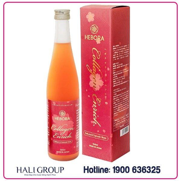 hebora collagen nhật bản chính hãng mẫu mới nhất